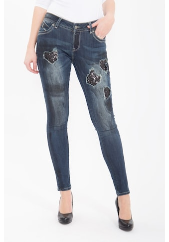 Blue Monkey Skinny - fit - Jeans »Laura 1653« kaufen
