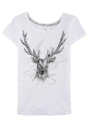 MarJo Trachtenshirt, mit Front-Print kaufen
