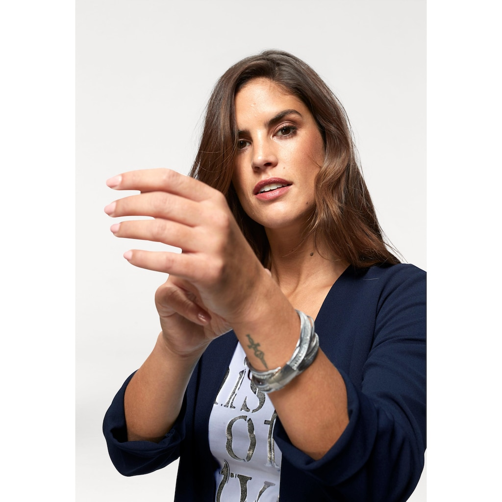 Laura Scott Longblazer, mit Reißverschlüssen