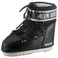 Moonboot Snowboots »MOON BOOT CLASSIC LOW 2«, im Kontrast-Look