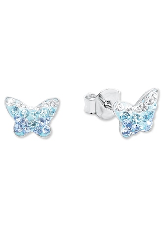Amor Paar Ohrstecker »Schmetterling, 9540761«, mit Preciosa Crystal kaufen