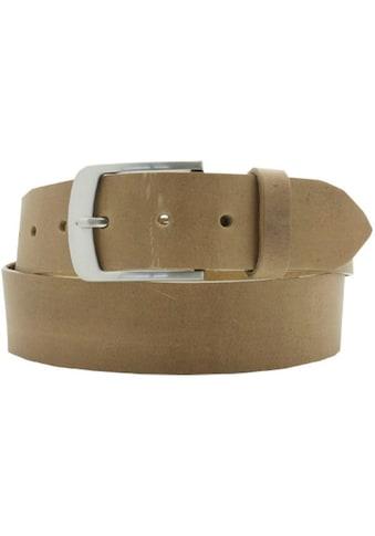 AnnaMatoni Ledergürtel, Herrenledergürtel im Used-Look kaufen