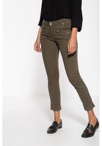 ATT Jeans Slim-fit-Jeans »Lola«, mit graphischer Musterung kaufen