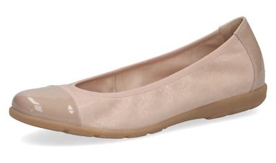 Caprice Ballerina, mit Lack-Details kaufen