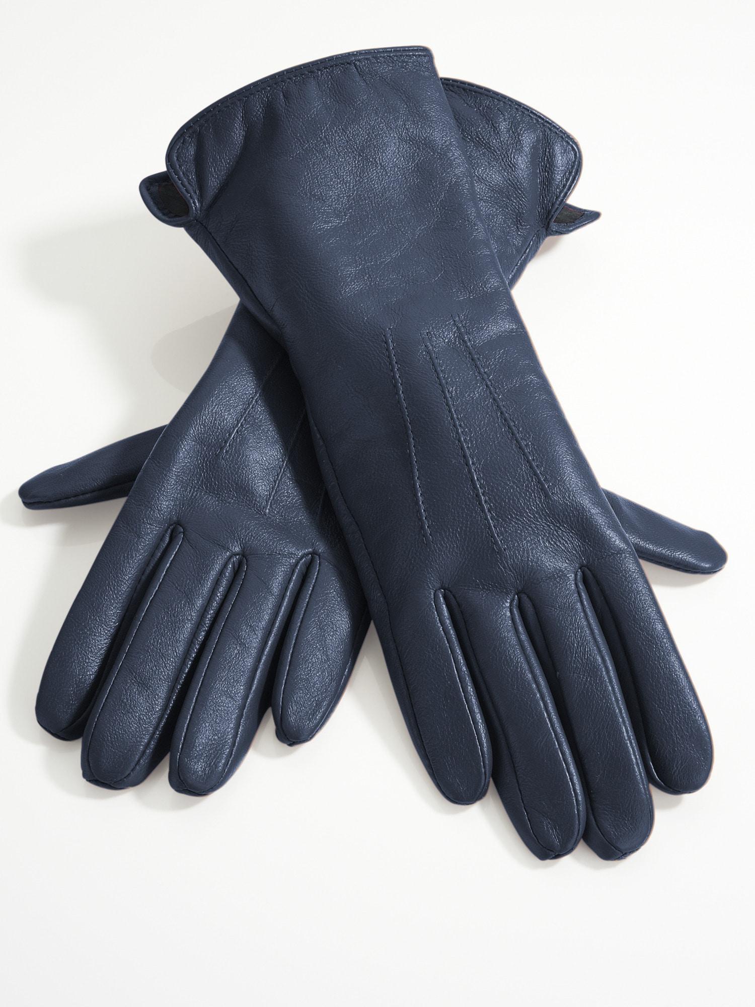 Heine Handschuhe mit Zierbiesen