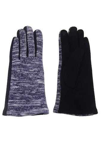 leslii Handschuhe in melierter Optik kaufen