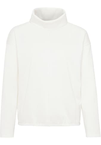 OPUS Sweatshirt »Glise«, mit weich fallendem Rollkragen kaufen