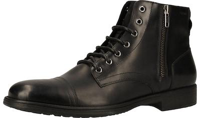 Geox Schnürstiefelette »Leder« kaufen