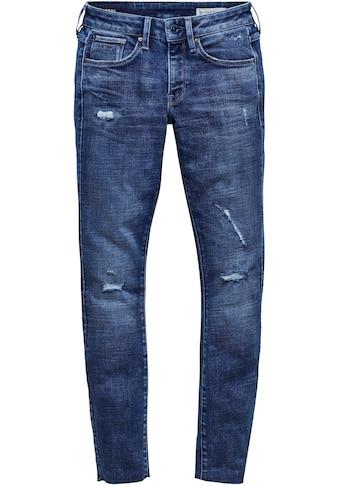 G-Star RAW Skinny-fit-Jeans »3301 Mid Skinny Ankle Jeans«, knöchellange Variante mit... kaufen