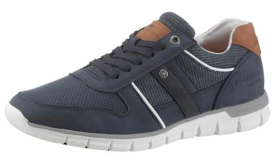 TOM TAILOR Sneaker, mit strukturiertem Textileinsatz kaufen
