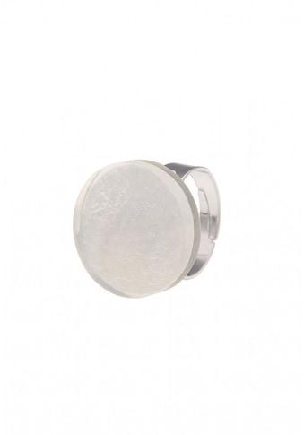 leslii Messing - Ring mit runder Muschelscheibe kaufen