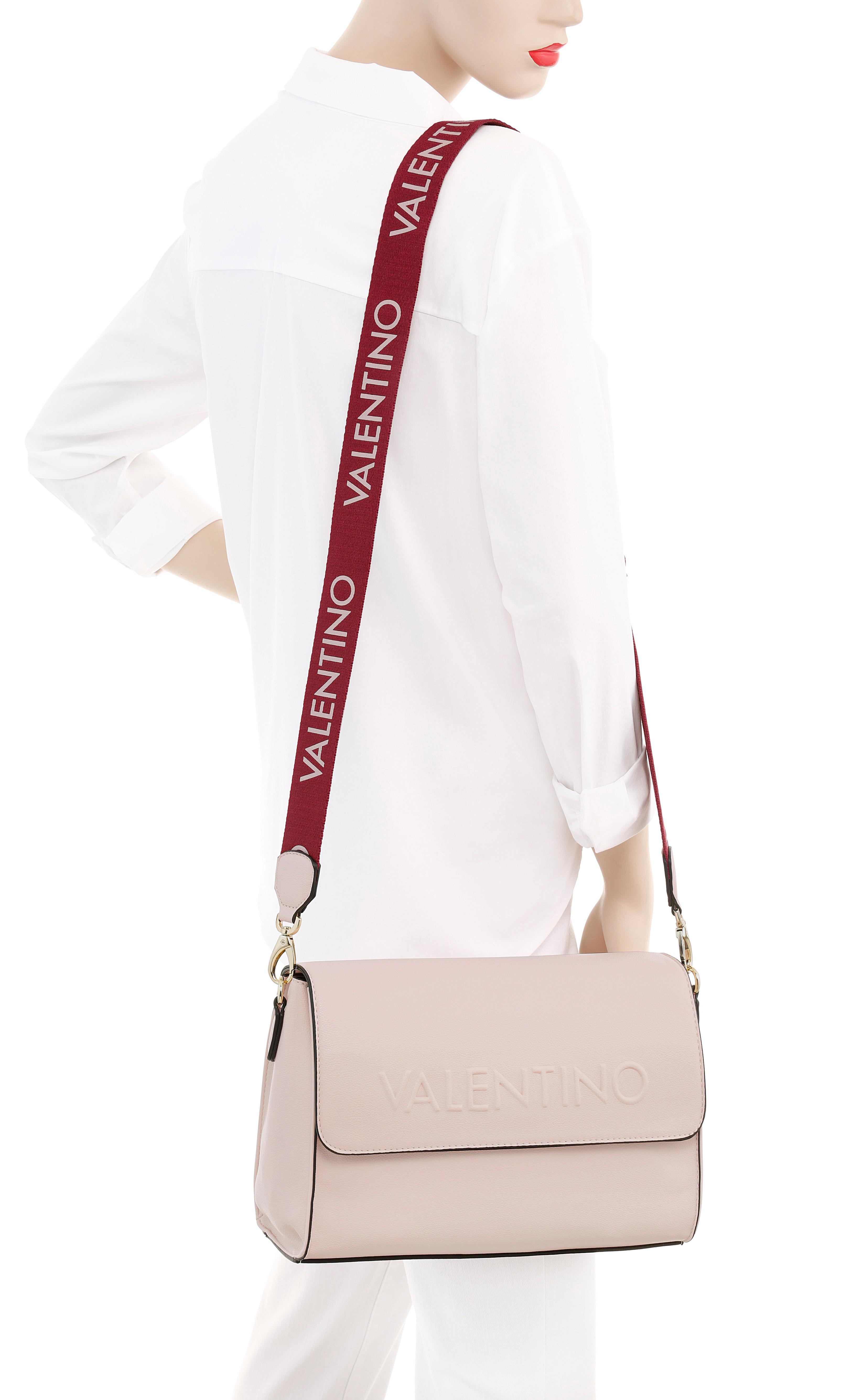 valentino bags -  Umhängetasche, mit Logo Schriftzug auf dem Umhängeriemen