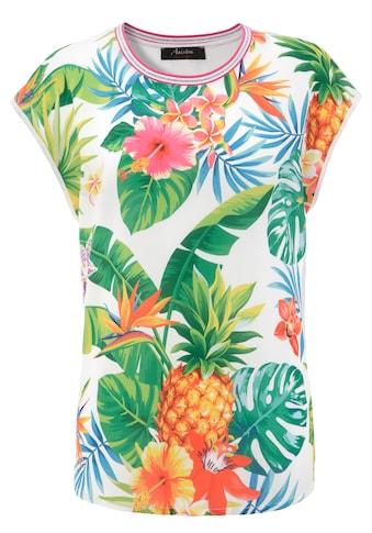 Aniston CASUAL T-Shirt, mit Tropical-Print kaufen