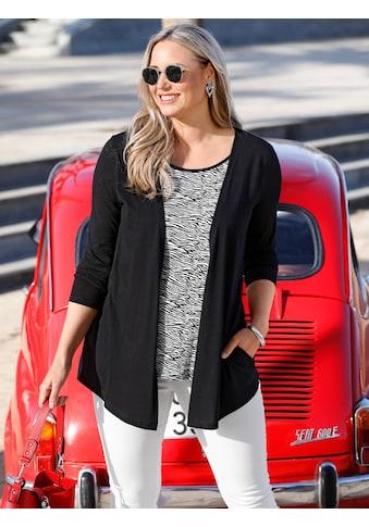 MIAMODA 2-in-1-Shirt, mit modischem Zebramuster kaufen