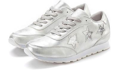 LASCANA Sneaker »mit Sternen und Wohlfühlinnensohle« kaufen
