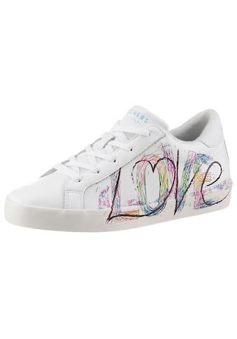 Skechers Slip-On Sneaker »DIAMOND STARZ«, mit LOVE-Schriftzug an der Seite kaufen