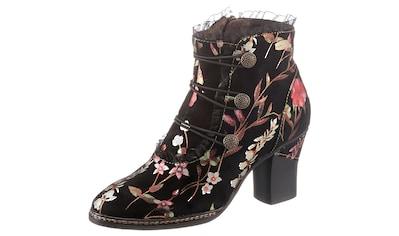 LAURA VITA Stiefelette »AMCELIAO«, mit schönem Blumenprint kaufen