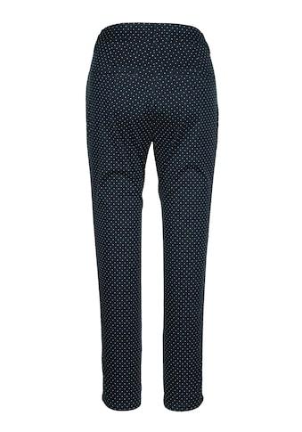MIAMODA Hose mit kleinem, grafischem Blumendruck-Muster kaufen