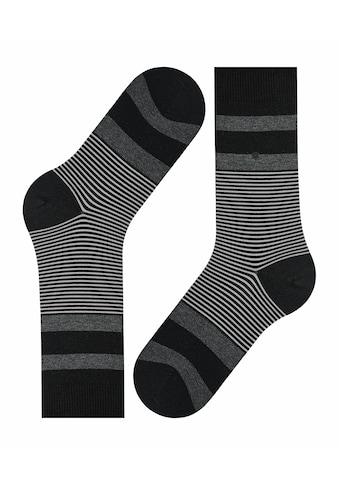 Burlington Socken »Black Stripe«, (1 Paar), mit angenehmer Baumwolle kaufen