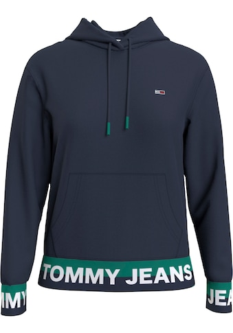 TOMMY JEANS Kapuzensweatshirt »TJW BRANDED HEM HOODIE« kaufen