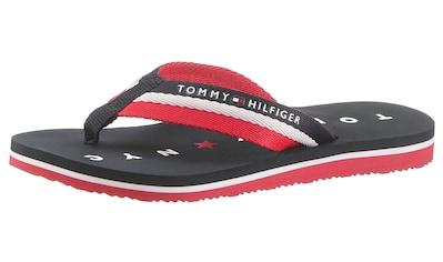 Tommy Hilfiger Zehentrenner »Mellie 13«, mit Logo ausf der Laufsohle kaufen
