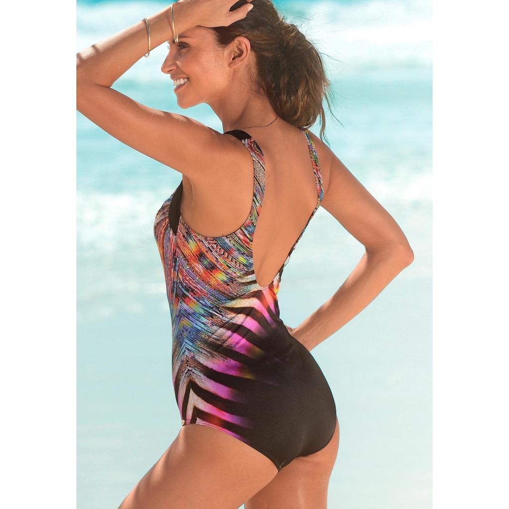 Sunflair Badeanzug, im schönem Druckdesign
