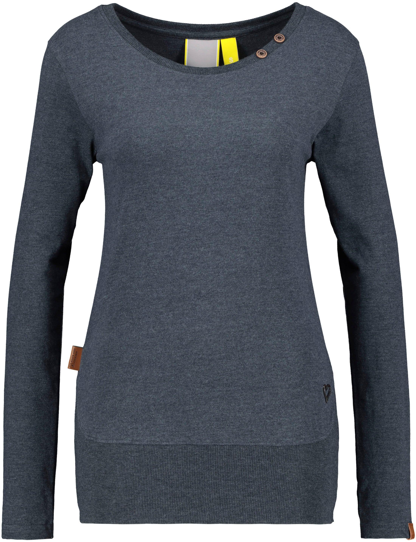 alife & kickin -  T-Shirt CocoAK, Uni-Longsleeve mit tiefem Rundhalsausschnitt