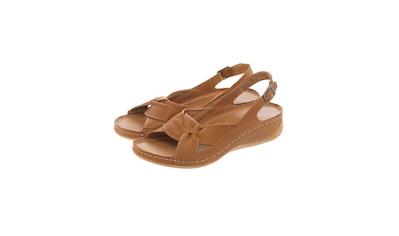 Naturläufer Sandale mit raffinierter Schlaufe kaufen