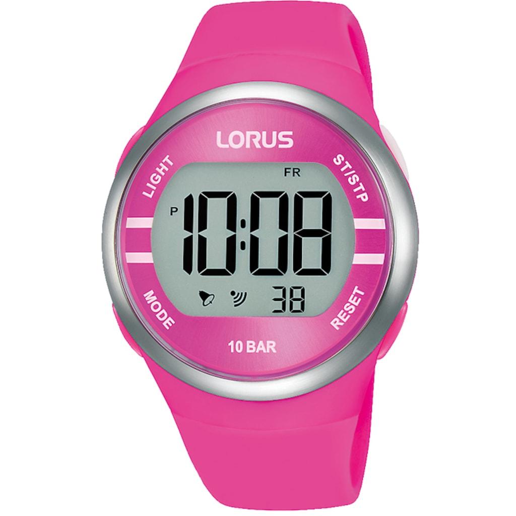 LORUS Chronograph »Lorus Digital Chrono, R2343NX9«