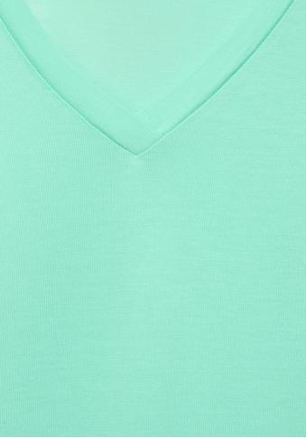 STREET ONE T-Shirt, in Lyocell Qualität kaufen