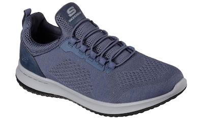 Skechers Slip-On Sneaker »DELSON - BREWTON«, in Strick-Optik kaufen