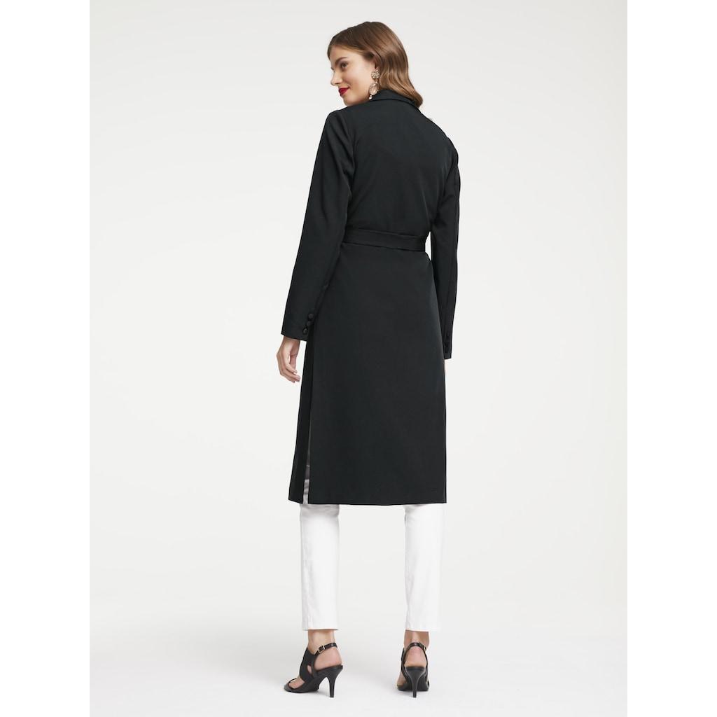 Mantel mit Gürtel