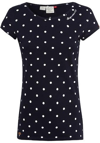 """Ragwear Plus T-Shirt »MINT DOTS PLUS«, mit """"Dots"""" Allover-Druck kaufen"""