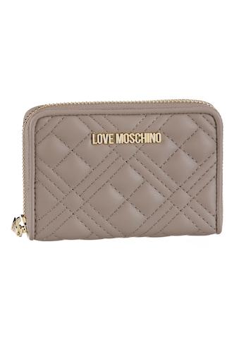 LOVE MOSCHINO Geldbörse, mit Ziersteppung kaufen