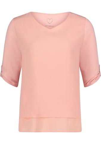 Betty Barclay Blusenshirt, mit Zierriegel am Ärmel kaufen