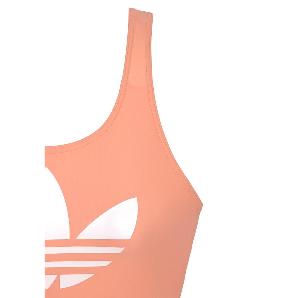 adidas Performance Badeanzug, mit großen Logoprint
