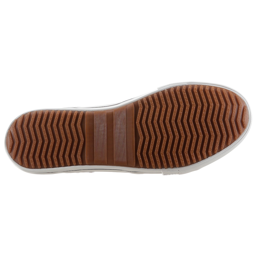 H.I.S Slip-On Sneaker, mit seitlicher Logostickerei