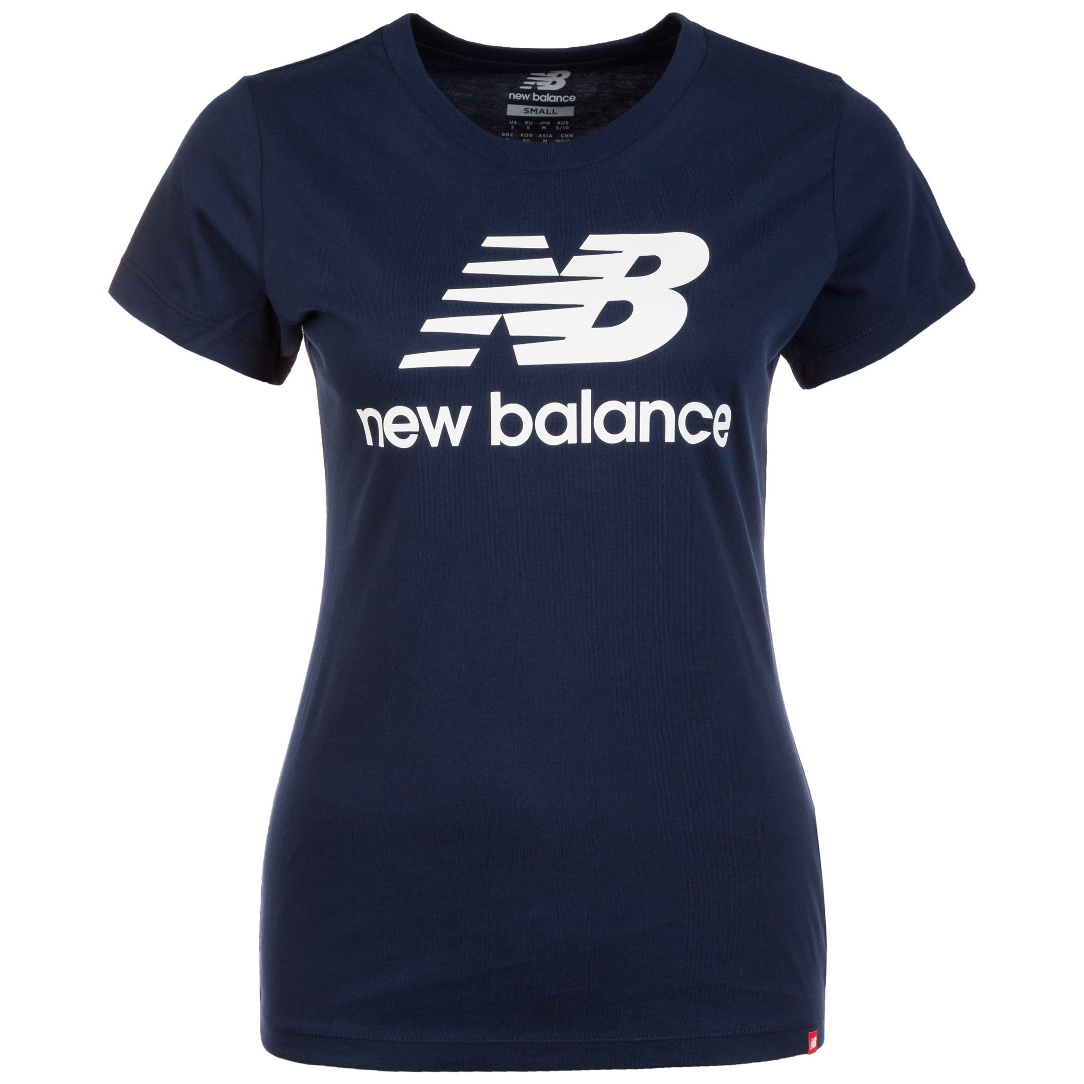 New Balance T-Shirt Essentials Stacked Logo