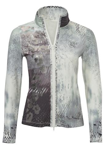 Shirtjacke mit Effekt-Print kaufen