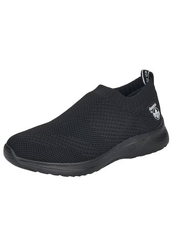 Rieker Slip-On Sneaker, in Strick-Optik kaufen