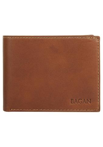Bagan Geldbörse »BICOLORE MOGANO«, Kreditkartenfächer kaufen
