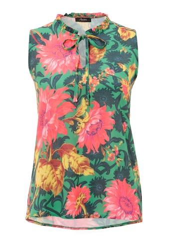 Aniston CASUAL Blusentop, mit farbenfrohen Blumendruck kaufen