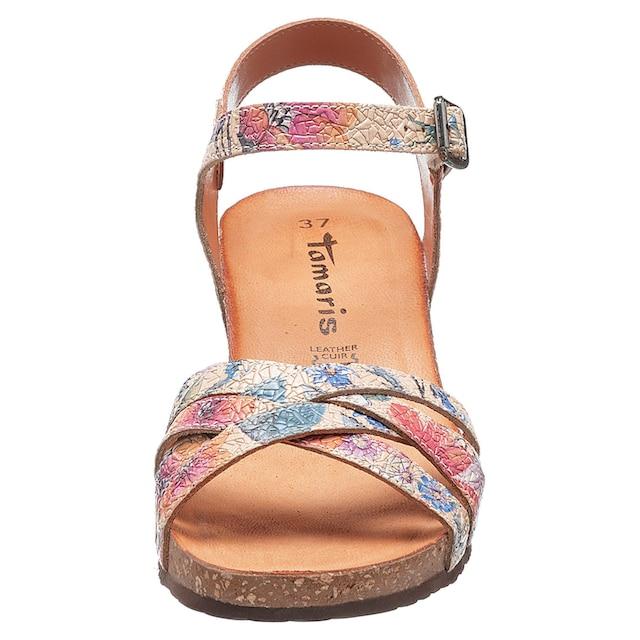 Tamaris »Scola« Sandalette mit Blütenprint kaufen | OTTO