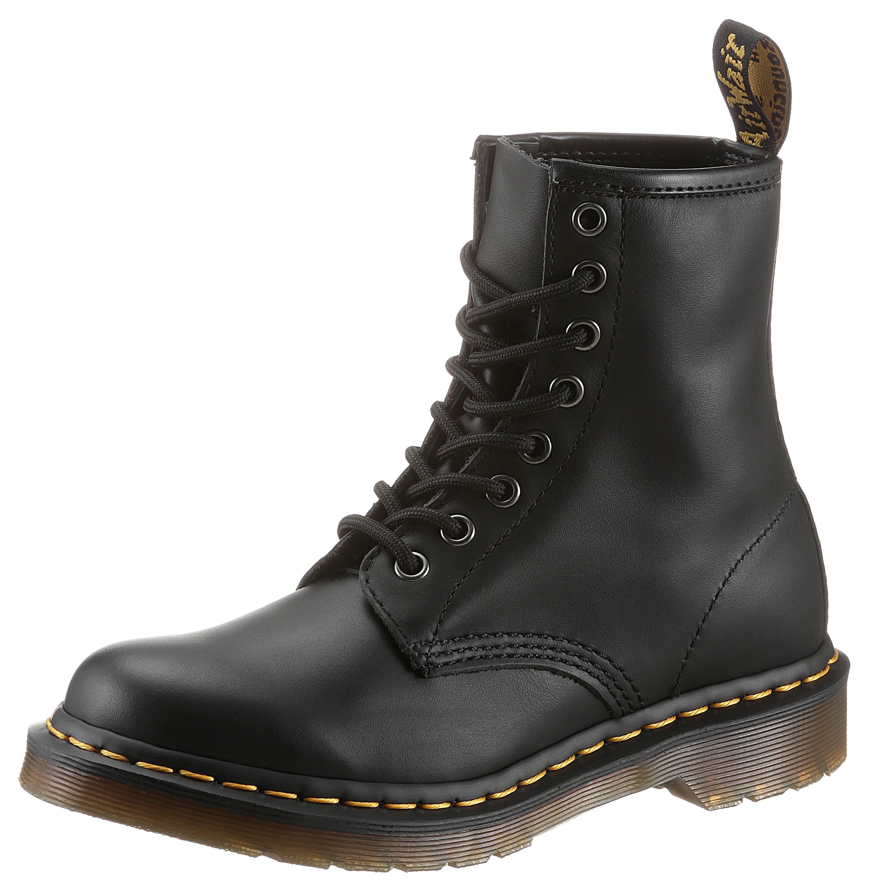 dr. martens -  Schnürstiefel 1460 Nappa 8 Eye Boot, mit Lederfutter
