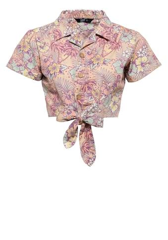 QueenKerosin Hemdbluse, mit hawaiianischem Muster kaufen