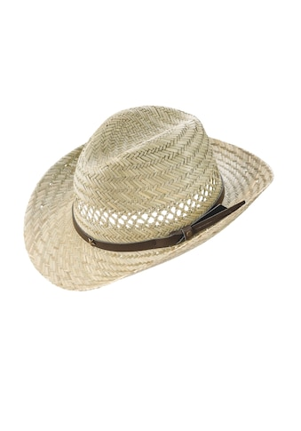 Chaplino Cowboyhut, mit Kunstlederhutband kaufen