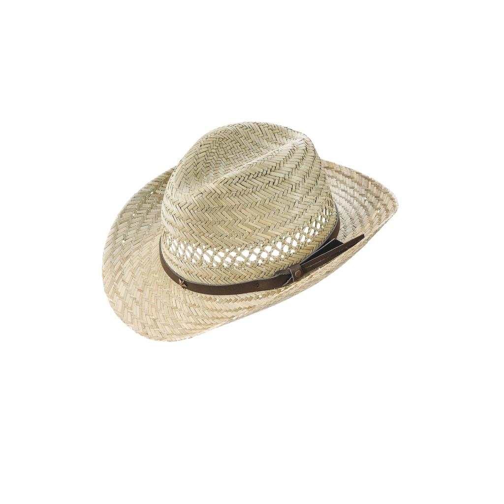 Chaplino Cowboyhut, mit Kunstlederhutband