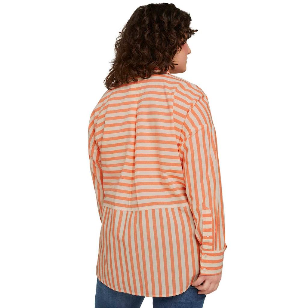 TOM TAILOR MY TRUE ME Hemdbluse, mit aufgesetzter Brusttasche