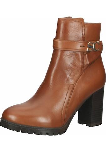 Scapa High-Heel-Stiefelette »Leder« kaufen