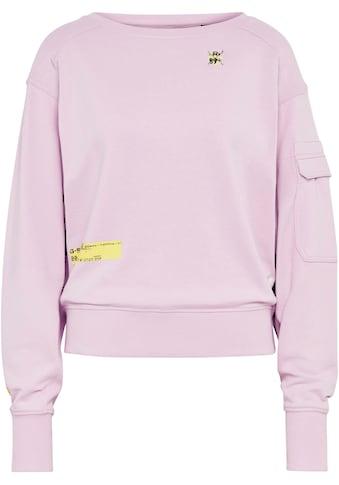 G-Star RAW Sweatshirt »Sweatshirt Boat neck«, mit U-Boot Ausschnitt und coolen Patches kaufen